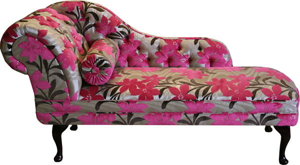 Chaise Longue in Customers own fabric