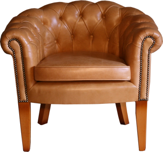 Classic Chesterfield Tub Chair
