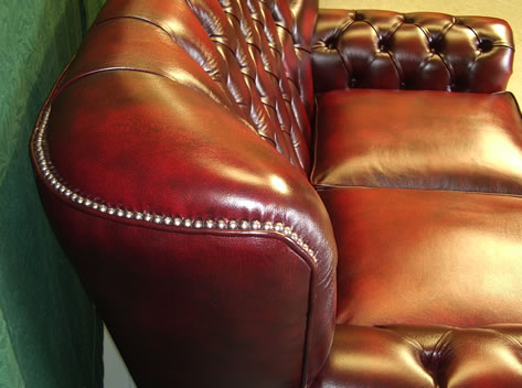 Top View of Mayfair Chesterfield Sofa