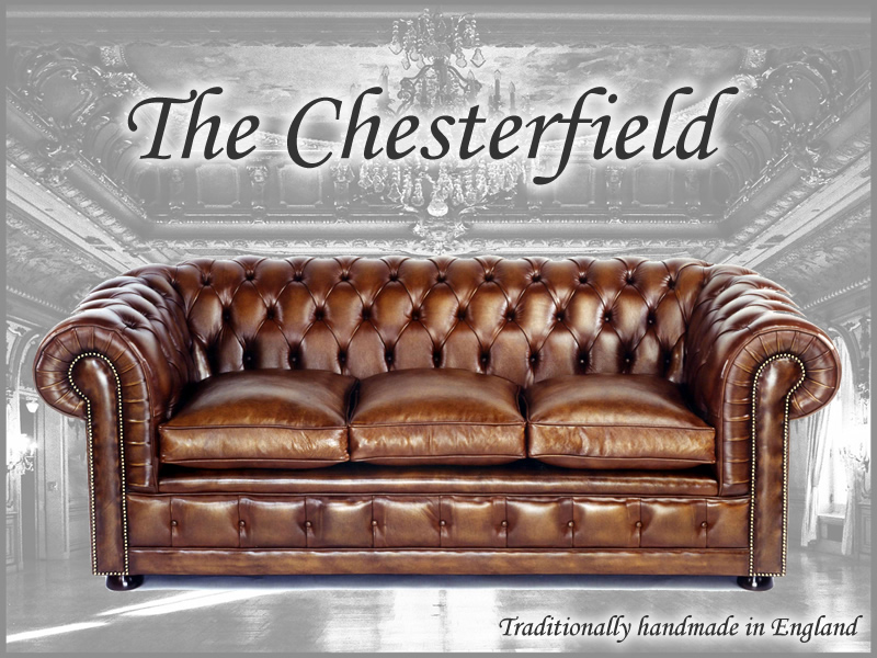 Chesterfield Sofas Chairs Leather Bespoke Made In England A1