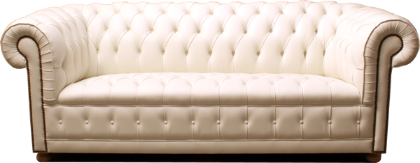 White Chesterfield Sofa