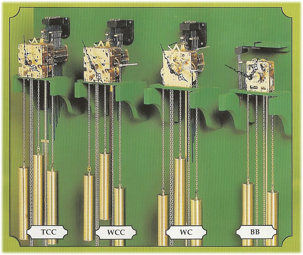 Hermle Clock Movements