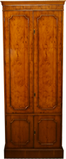 Reproduction Bookcase Yew