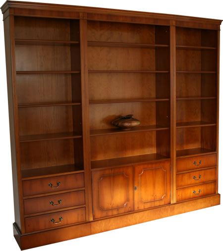 Modular Bookcases Yew