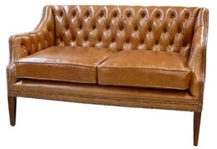 Officer 2 Seater Chesterfield Sofa