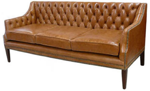 Officer 3 Seater Chesterfield Sofa