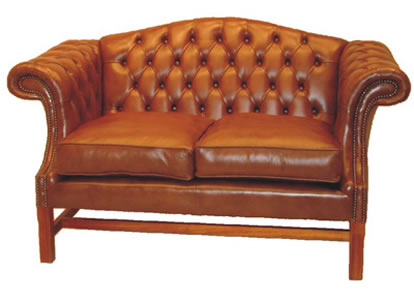 London 2 Seater Chesterfield Sofa