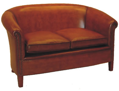 Abbot Club Chesterfield 2 Seat Sofa
