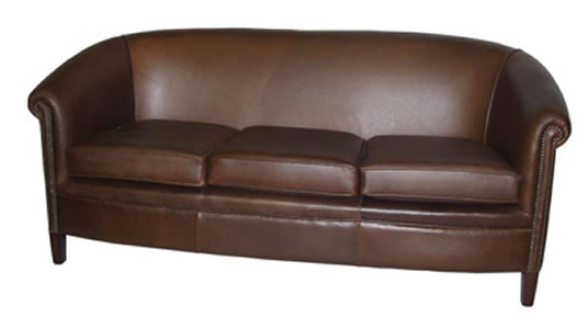 Abbot Club Chesterfield 3 Seat Sofa