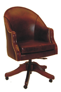 Bishop Swivel Desk Chair