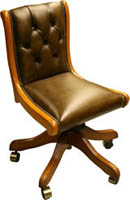 Regency Full Saddle Desk Chair