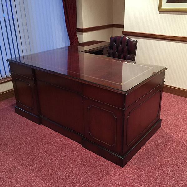 yew and mahogany reproduction bespoke desks a1 furniture rh a1 furniture co uk mahogany executive office furniture mahogany wood office furniture