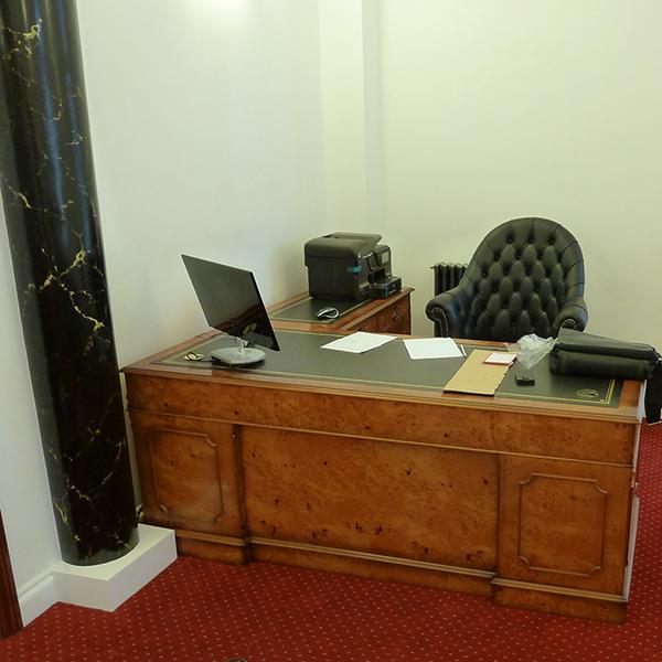 bespoke office desks. poplar l shape corner desk bespoke office desks