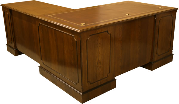 L-Shaped Directors/Executive Desk