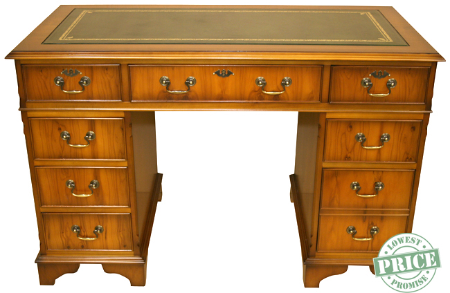 Reproduction Yew Desk