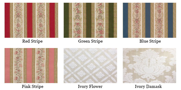 Dining Chair Regency Stripe Fabrics