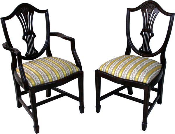 Wheatear Shield Back Dining Chairs