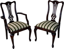 Queen Ann Leg Dining Chairs