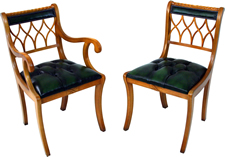 Gothic Back Dining Chairs