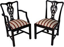 Ribbon Back Dining Chairs