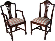 Wheatear High Back Dining Chairs
