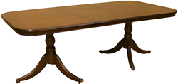 reproduction dining tables mahogany yew
