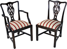 Reproduction dining chairs