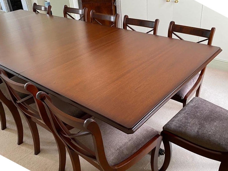 Reproduction Dining Table Mahogany Yew