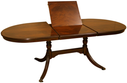 reproduction flip top dining tables mahogany yew