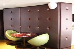 upholstered walls contract