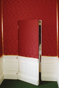 fabric walling doors
