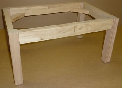 Bunk Bed House Plans How To Build A Footstool Frame
