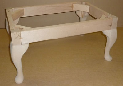 How To Build A Footstool Frame