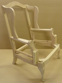 Regent Wing Chair Frame