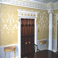 Fabric upholstered walls