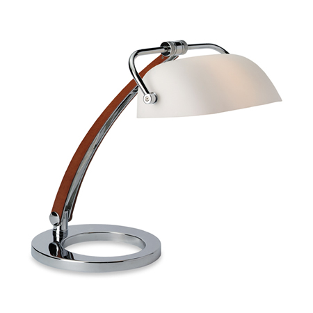 Executive Chrome Bankers Lamp
