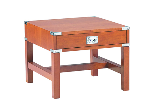 Military Lamp Table Cherry