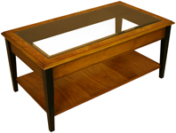 tapered leg coffee tables
