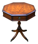Octagonal Drum Tables