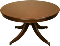 round reproduction coffee tables