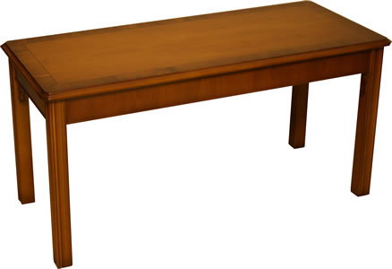 Chippendale Coffee Table in Yew