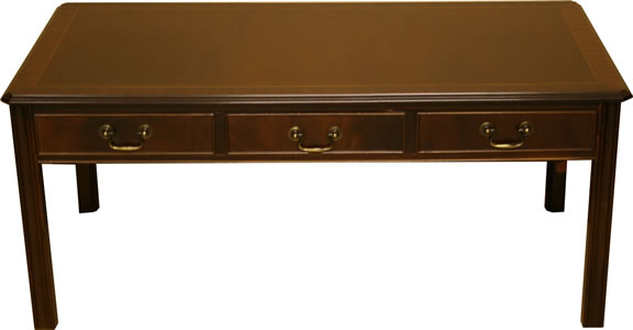 6 Drawer Chippendale Coffee Table