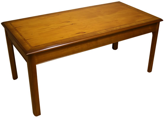 Chippendale Coffee And Lamp Tables Yew And Mahogany A1 Furniture