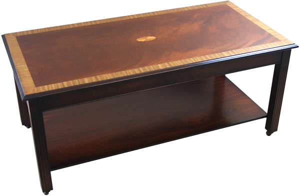 Coffee Table with Marquetry