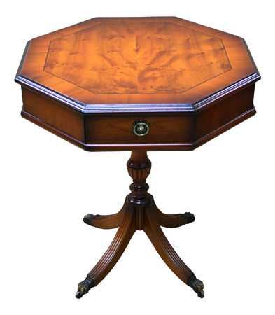 Octagonal reproduction drum table