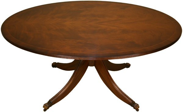 Oval Coffee Table without rim