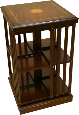 Revolving Bookcase Reproduction