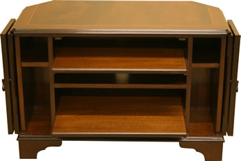 Reproduction Corner TV Stand