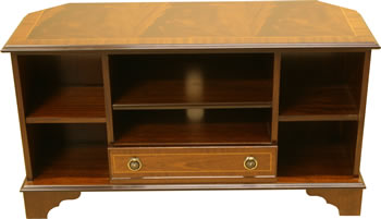 Corner Television Cabinet with Drawer