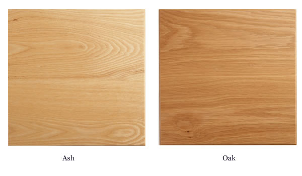choice of wood ash or oak for windsor chair